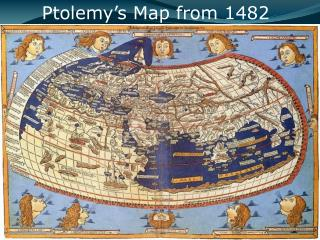 Ptolemy's Map from 1482
