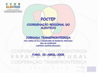 Coordenação Regional do Alentejo