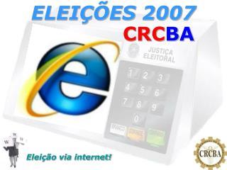 ELEIÇÕES 2007