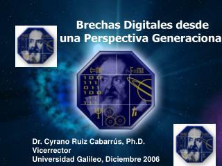 Brechas Digitales desde una Perspectiva Generacional