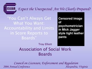 """""""You Can't Always Get What You Want: Accountability and Limits in Score Reports to Boards"""""""