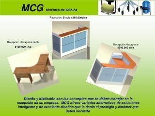 MCG  Muebles de Oficina