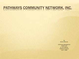 Pathways Community Network, Inc.