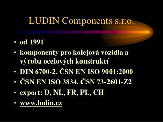 LUDIN Components s.r.o.