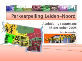 Parkeerpeiling  Leiden-Noord