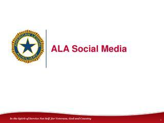 ALA Social Media