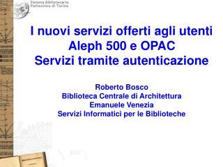 Politecnico di Torino – 10 novembre 2006
