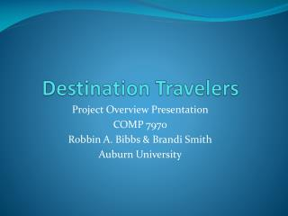Destination Travelers