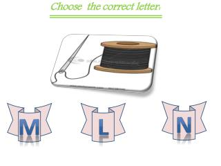 Choose  the correct letter: