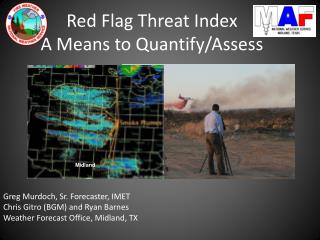 Red Flag Threat Index A Means to Quantify