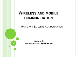 Opportunities and Challenges in 60GHz Wideband Wireless System Design