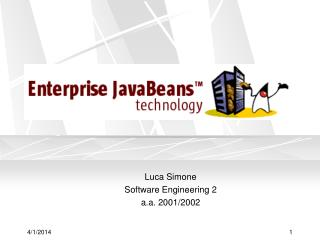 Luca Simone  Software Engineering 2  a.a. 2001