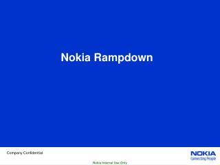 Nokia Rampdown