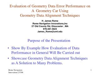 Show By Example How Evaluation of Data Performance in General Will Be Carried out