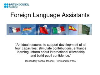 Foreign Language Assistants
