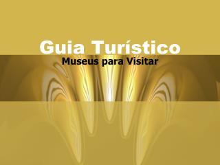 Guia Turístico