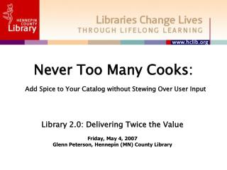 Never Too Many Cooks: Add Spice to Your Catalog without Stewing Over User Input