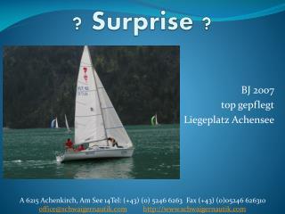 ?  Surprise  ?