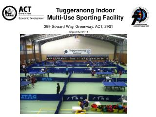 Tuggeranong Indoor  Multi-Use Sporting Facility