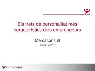 Els trets de personalitat més característics dels emprenedors