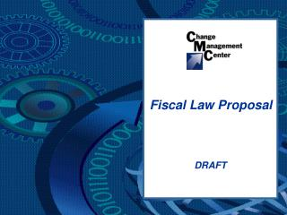 Fiscal Law Proposal