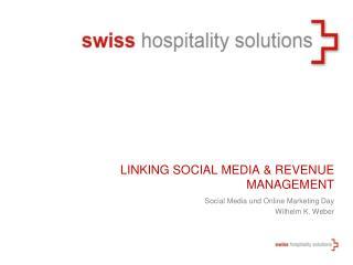Linking  Social  Media & Revenue Management