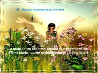 Melodia: Nana Mouskouri-Ave Maria