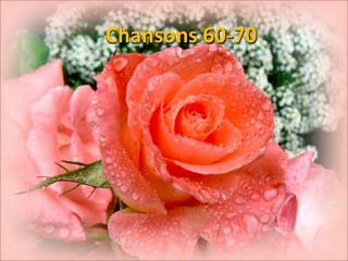 Chansons 60-70