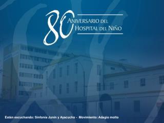Están escuchando: Sinfonía Junín y Ayacucho -  Movimiento: Adagio molto