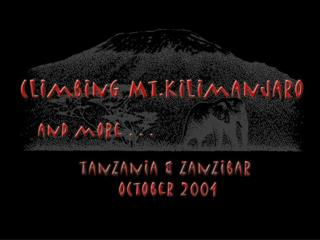 to Tanzania in Africa