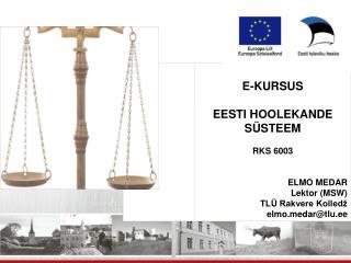 Eesti Hoolekande Süsteem