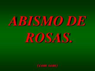 ABISMO DE  ROSAS. (com som)