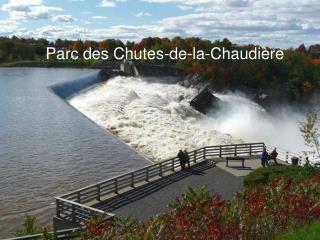 Parc des Chutes-de-la-Chaudière
