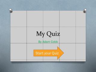 My Quiz