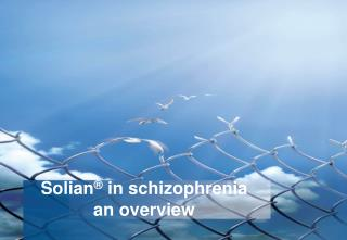Solian  in schizophrenia an overview