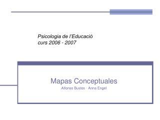 Psicologia de l'Educació curs 2006 - 2007