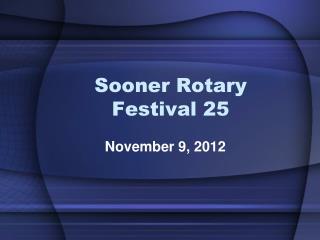 Sooner Rotary Festival 25