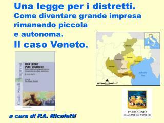 a cura di P.A. Nicoletti