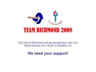 TEAM RICHMOND 2008