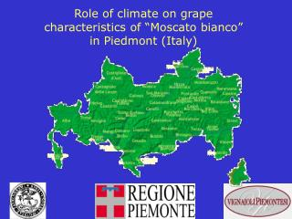 "Role of climate on grape characteristics of ""Moscato bianco"" in Piedmont (Italy)"