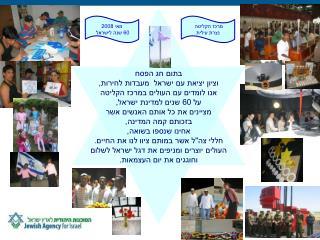 בתום חג הפסח וציון יציאת עם ישראל  מעבדות לחירות, אנו לומדים עם העולים במרכז הקליטה