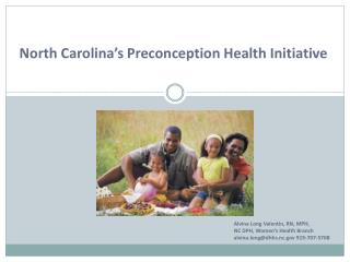 North Carolina's Preconception Health Initiative