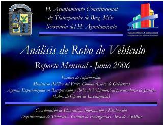 H. Ayuntamiento Constitucional de Tlalnepantla de Baz, Méx. Secretaría del H. Ayuntamiento