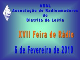XVII Feira de Rádio