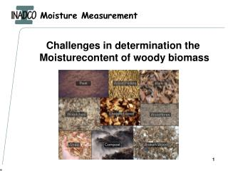 Challenges in determination the  Moisturecontent of woody biomass