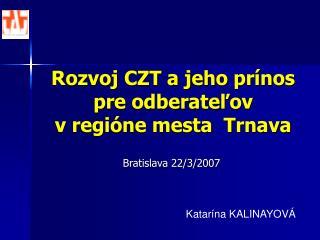 Bratislava 22/3/2007