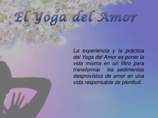 El Yoga del Amor