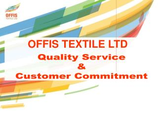 Quality Service & Customer Commitment
