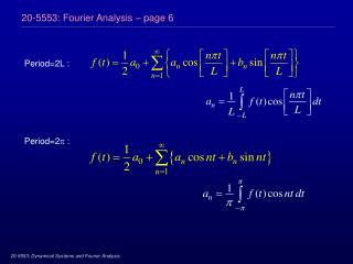 20-5553: Fourier Analysis – page 6