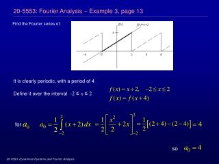 20-5553: Fourier Analysis – Example 3, page 13